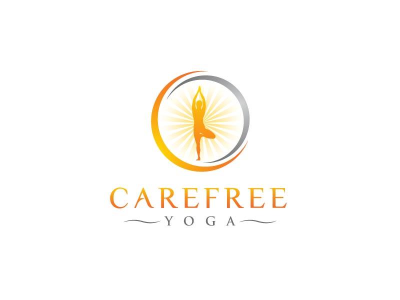 Carefree Yoga logo design by usef44