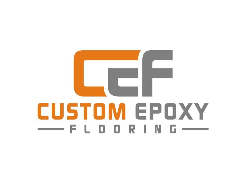 Custom Epoxy Flooring logo design by Arto moro