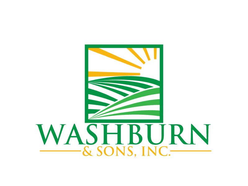 Washburn & Sons, Inc. logo design by ElonStark