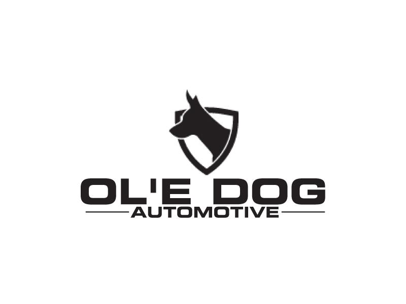 OL'E Dog Automotive logo design by ElonStark