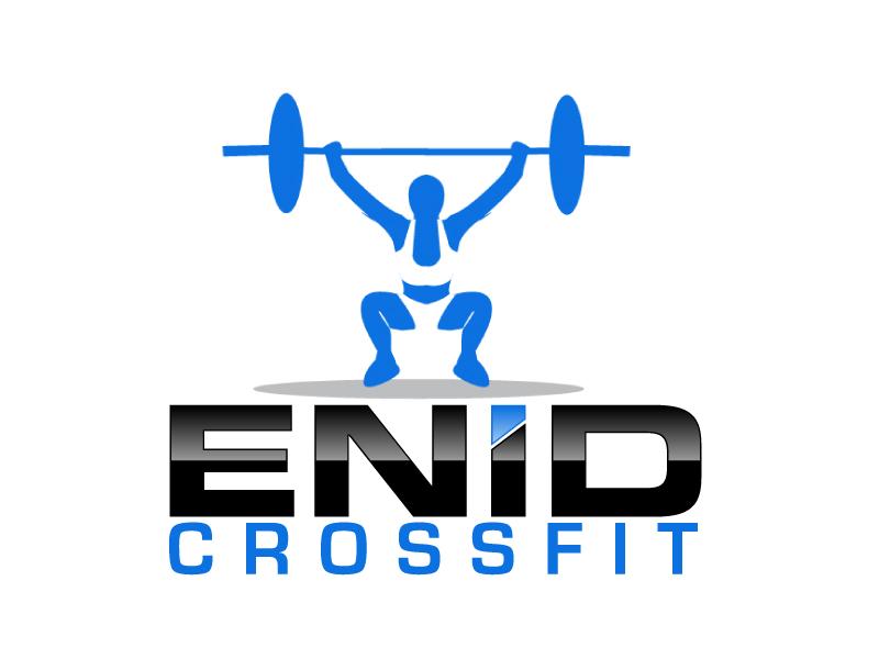 Enid CrossFit logo design by ElonStark