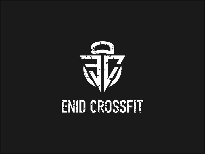 Enid CrossFit logo design by rdbentar