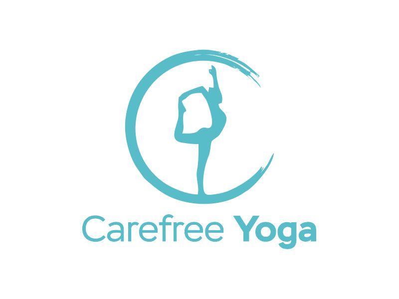 Carefree Yoga logo design by Gwerth
