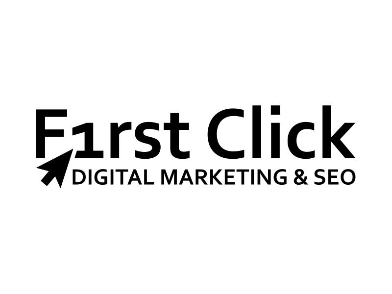 First Click Digital Marketing & SEO logo design by cintoko