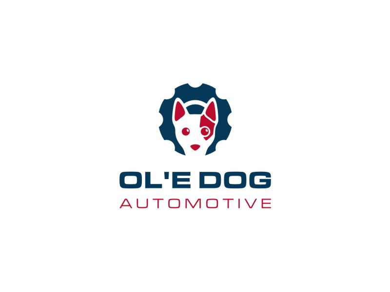 OL'E Dog Automotive logo design by Susanti