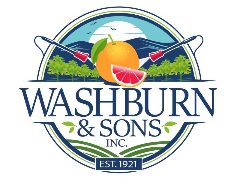Washburn & Sons, Inc. logo design by uttam