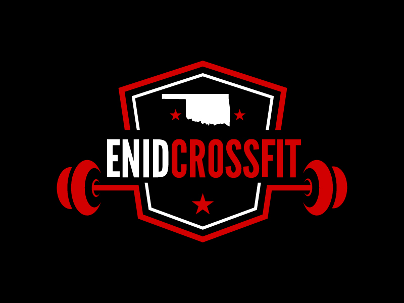 Enid CrossFit logo design by czars