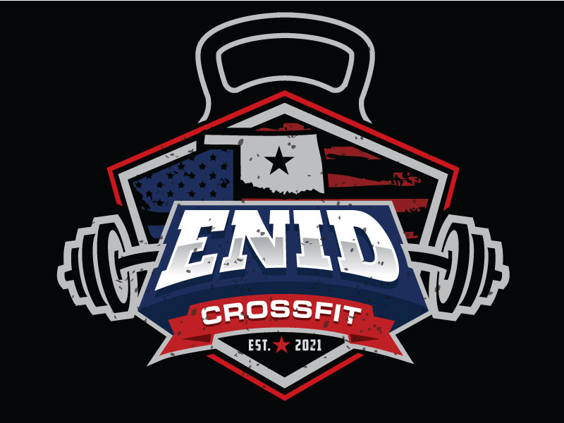 Enid CrossFit logo design by REDCROW