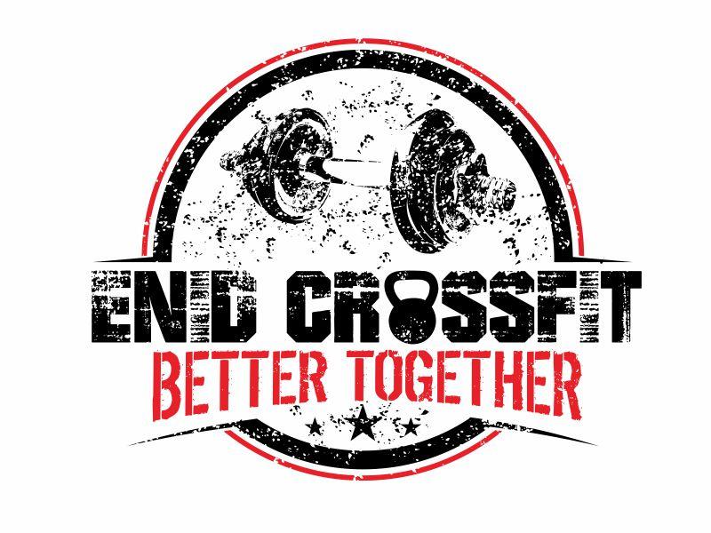 Enid CrossFit logo design by bosbejo
