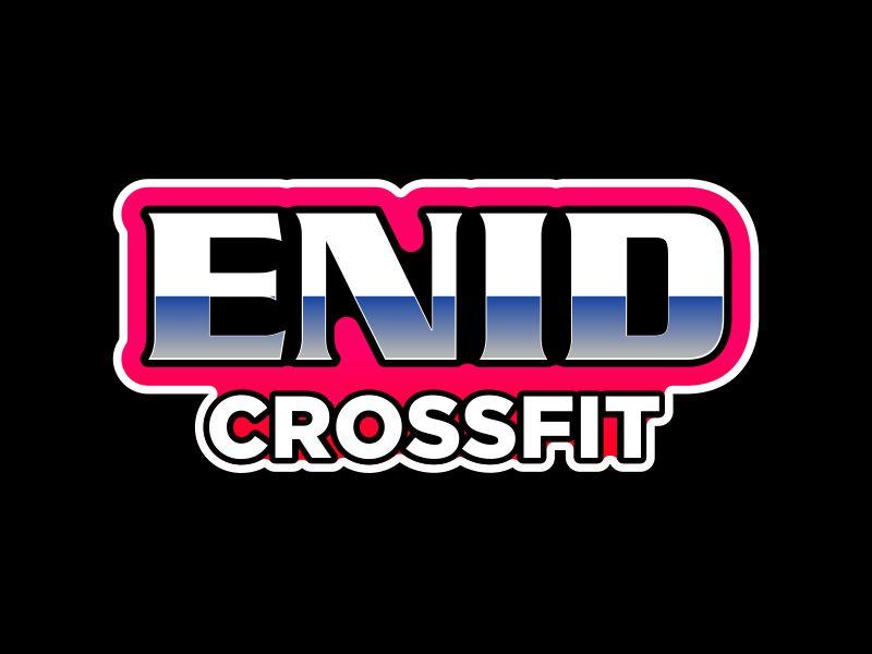 Enid CrossFit logo design by MUNAROH