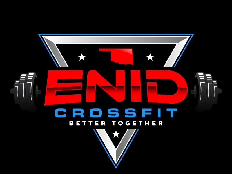 Enid CrossFit logo design by daywalker