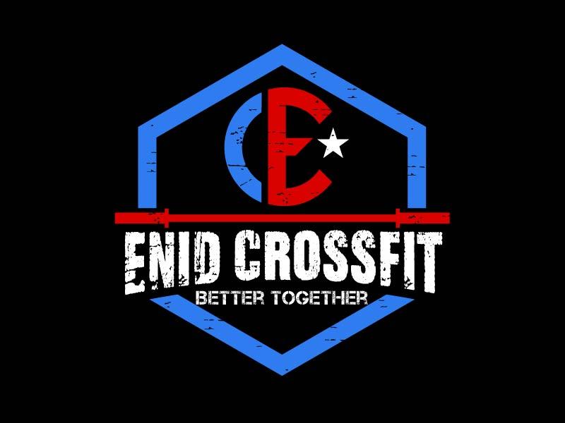 Enid CrossFit logo design by usef44