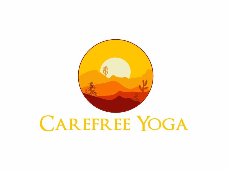 Carefree Yoga logo design by Greenlight