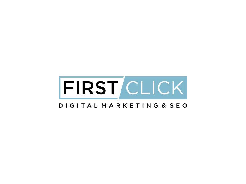 First Click Digital Marketing & SEO logo design by Galfine
