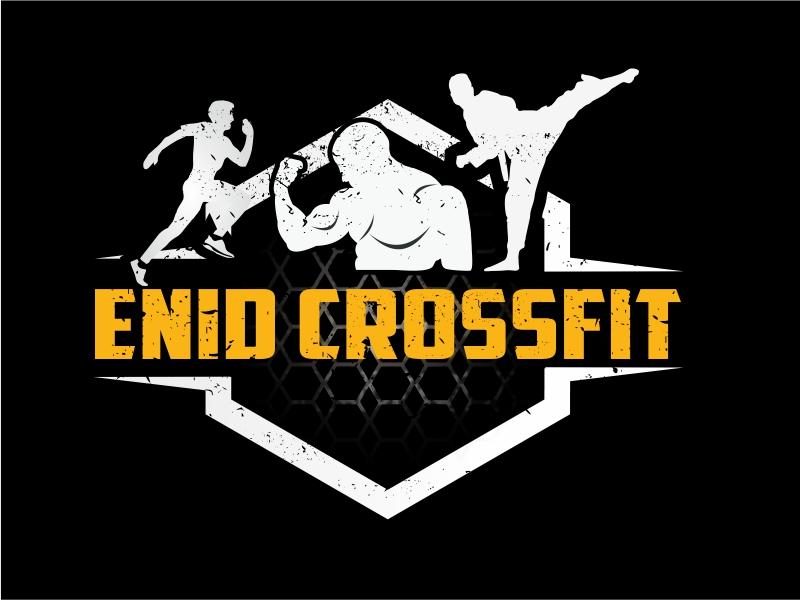 Enid CrossFit logo design by Greenlight
