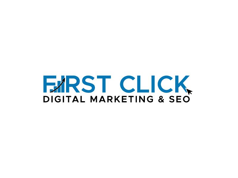 First Click Digital Marketing & SEO logo design by Mezzala