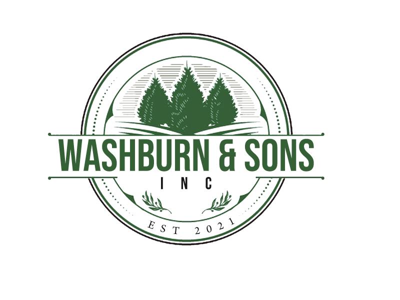 Washburn & Sons, Inc. logo design by senja03