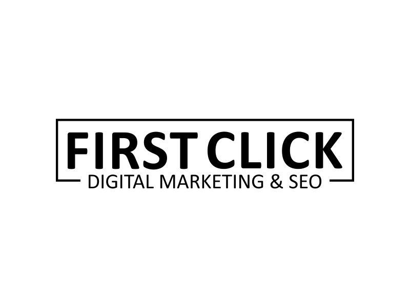 First Click Digital Marketing & SEO logo design by MUNAROH