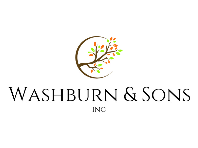 Washburn & Sons, Inc. logo design by jetzu