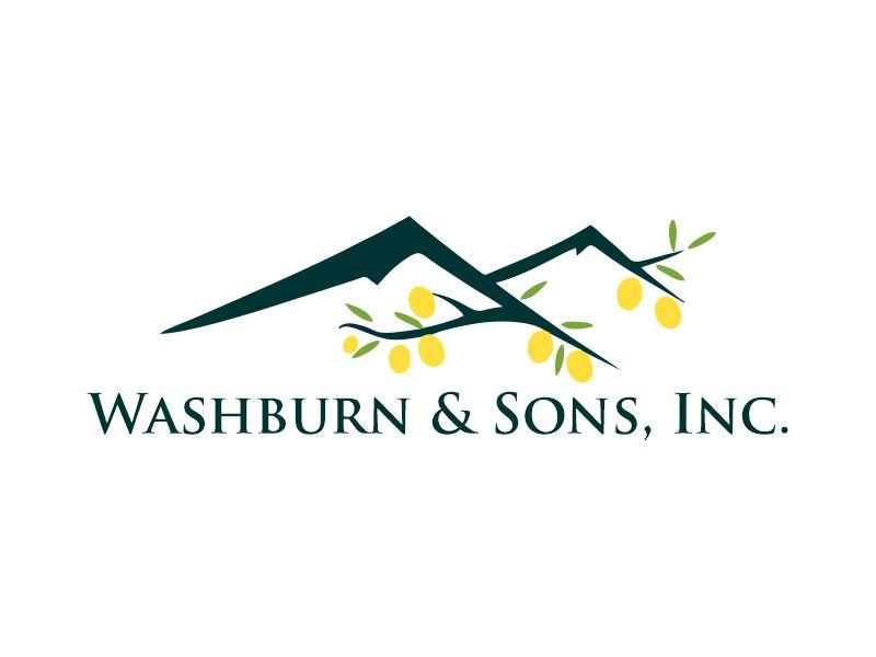 Washburn & Sons, Inc. logo design by Gwerth