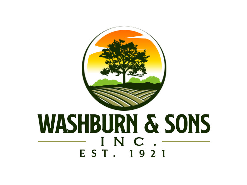 Washburn & Sons, Inc. logo design by kunejo