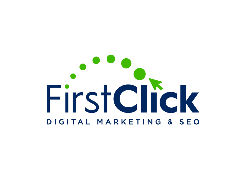 First Click Digital Marketing & SEO logo design by Janee