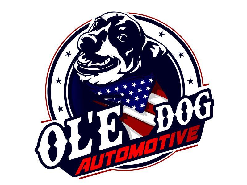OL'E Dog Automotive logo design by veron