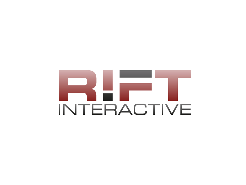 RIFT Interactive logo design by my!dea