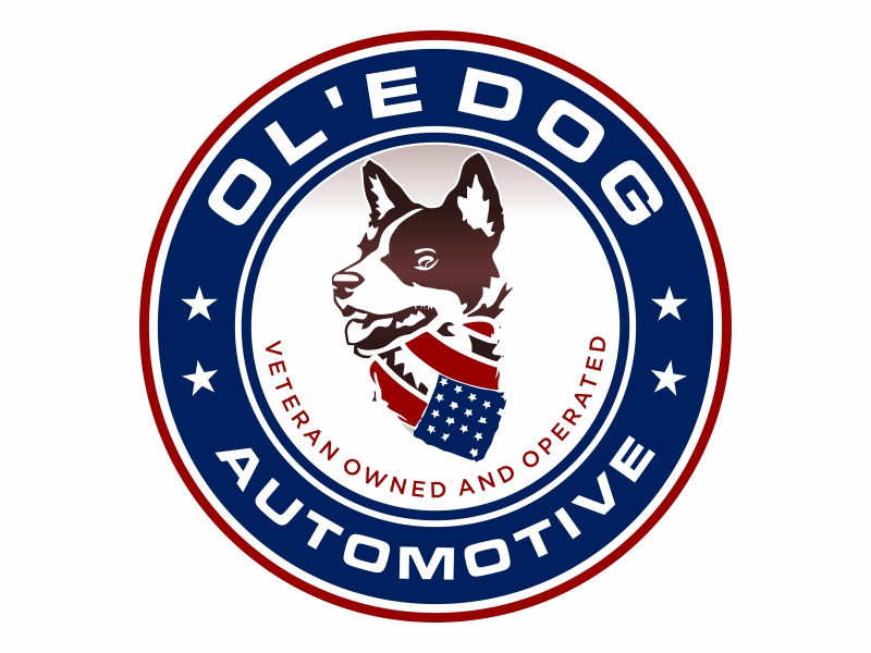 OL'E Dog Automotive logo design by hidro