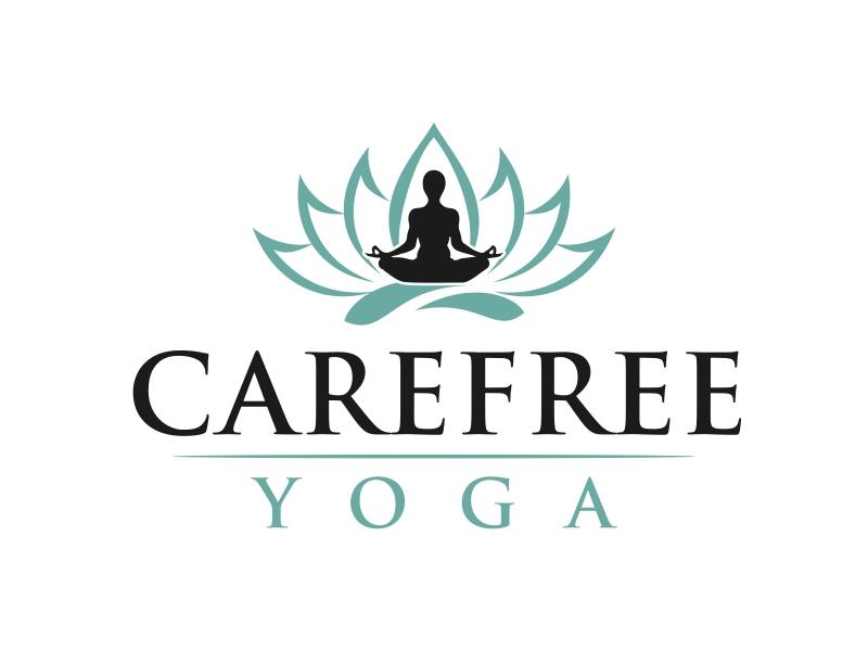 Carefree Yoga Logo Design