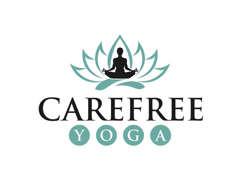 Carefree Yoga logo design by GassPoll