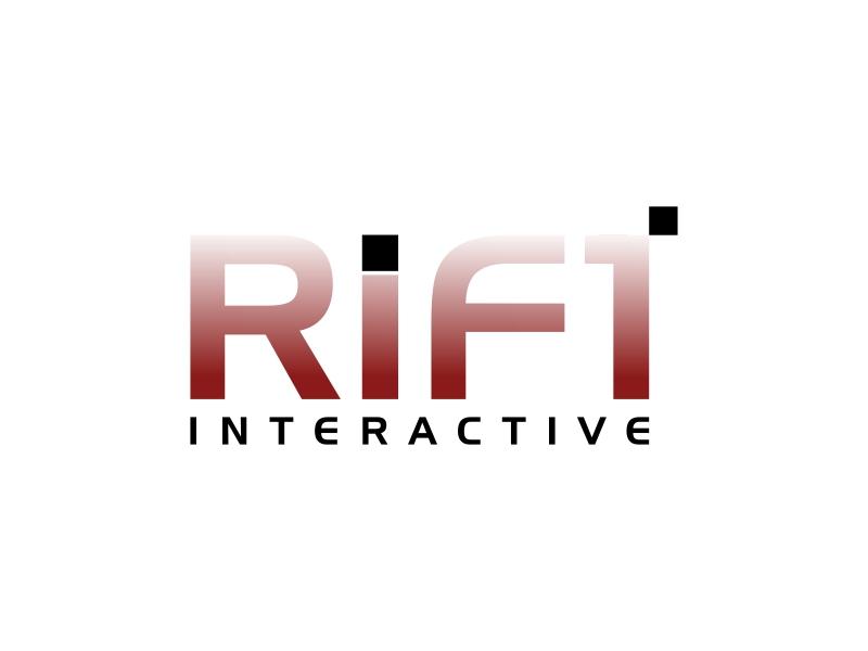 RIFT Interactive logo design by luckyprasetyo