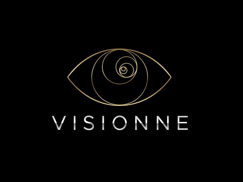 VISIONNE logo design by kunejo