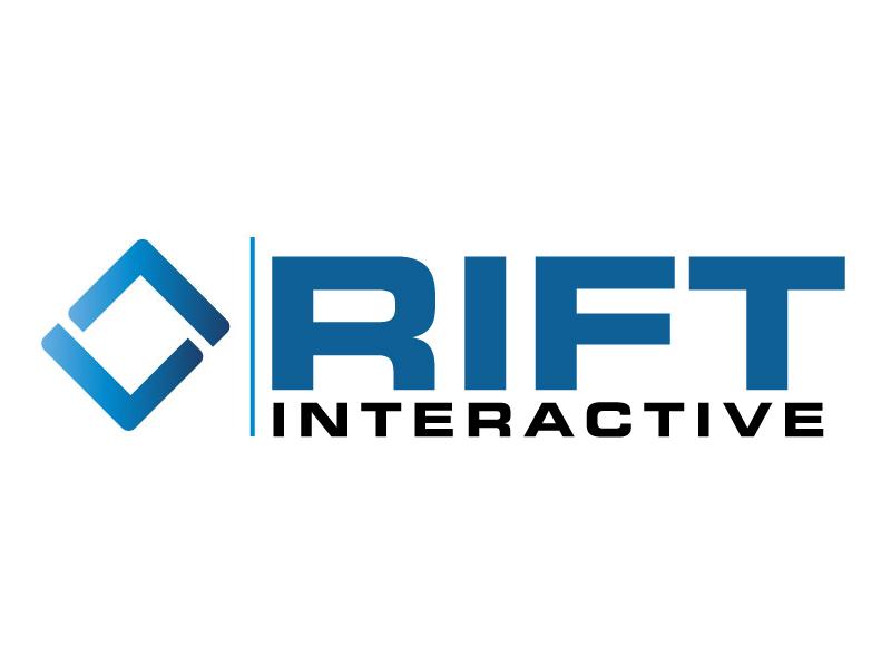 RIFT Interactive logo design by ElonStark