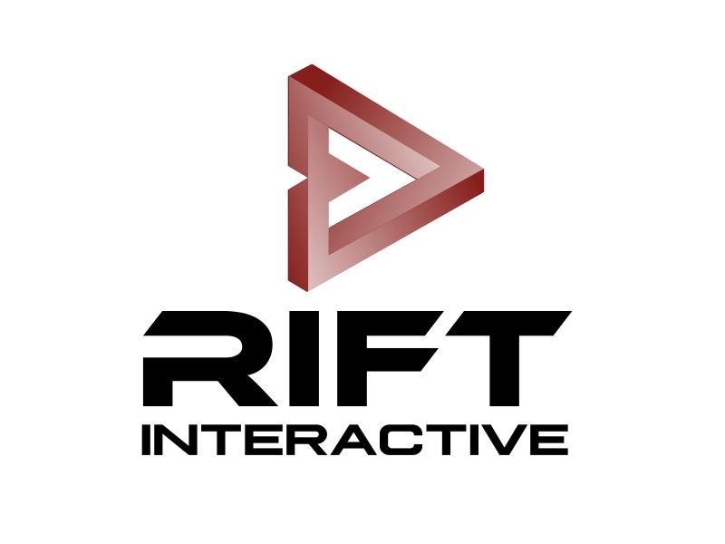 RIFT Interactive logo design by serprimero