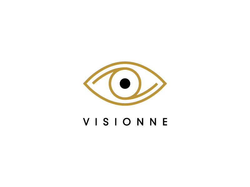 VISIONNE logo design by dgawand
