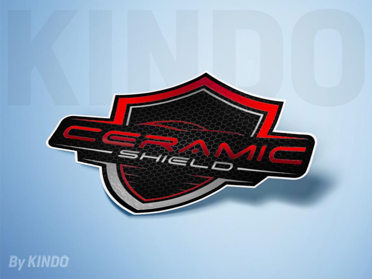 Ceramic Shield logo design by Kindo