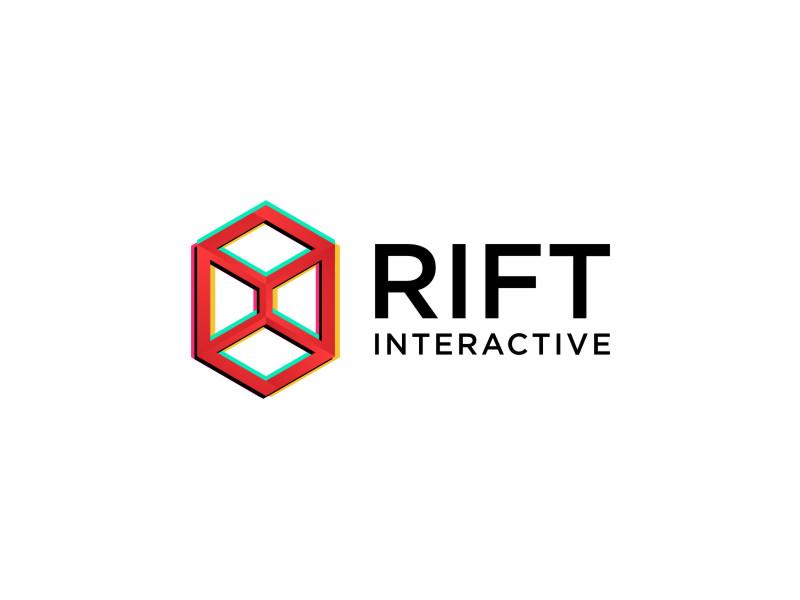RIFT Interactive logo design by Garmos