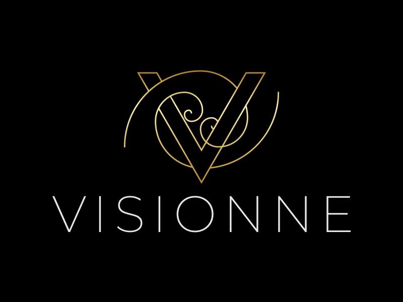VISIONNE logo design by ekitessar