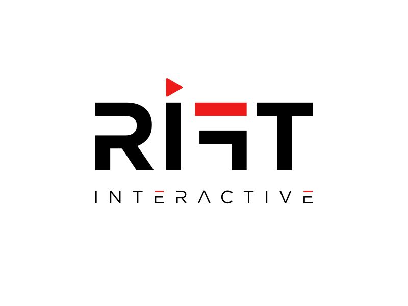 RIFT Interactive logo design by haidar