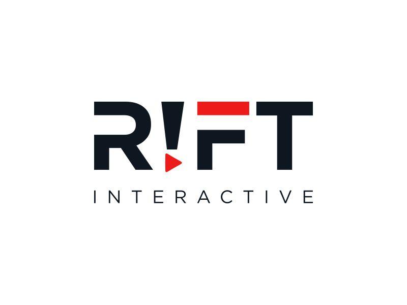 RIFT Interactive logo design by Rhiezone