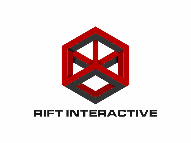 RIFT Interactive logo design by y7ce