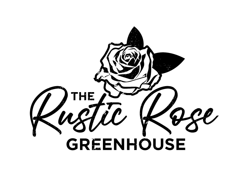 The Rustic Rose Greenhouse logo design by aRBy