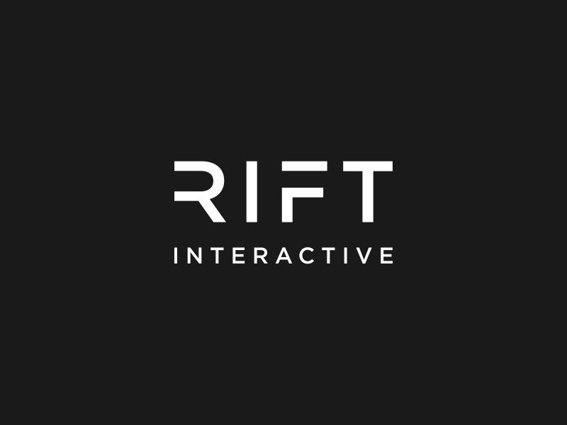 RIFT Interactive logo design by vuunex