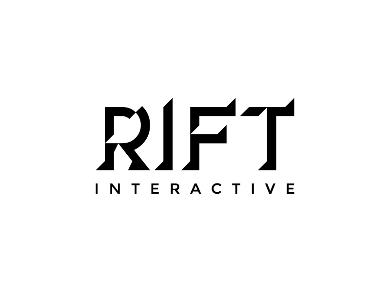 RIFT Interactive logo design by graphica