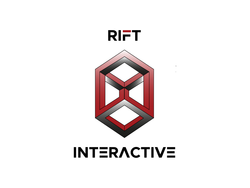 RIFT Interactive logo design by Mezzala
