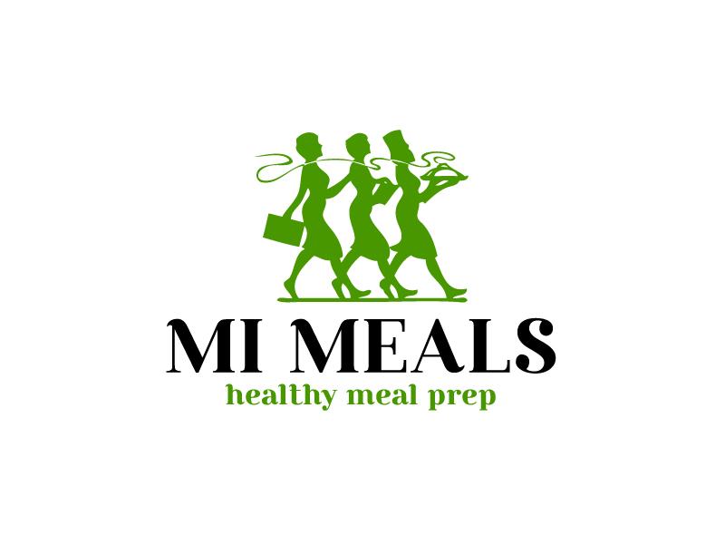 MI MEALS logo design by Marianne