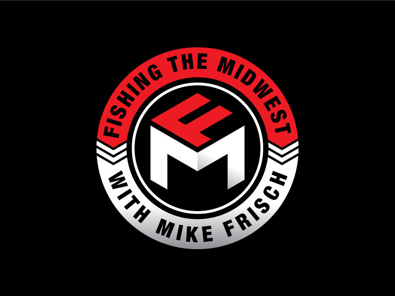 Fishing the Midwest with Mike Frisch logo design by Pompi Saha