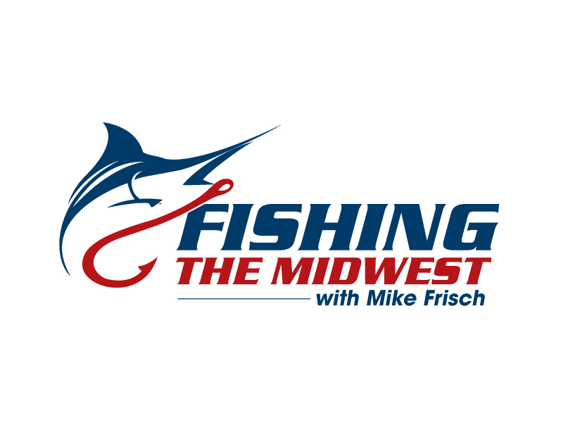 Fishing the Midwest with Mike Frisch logo design by jaize