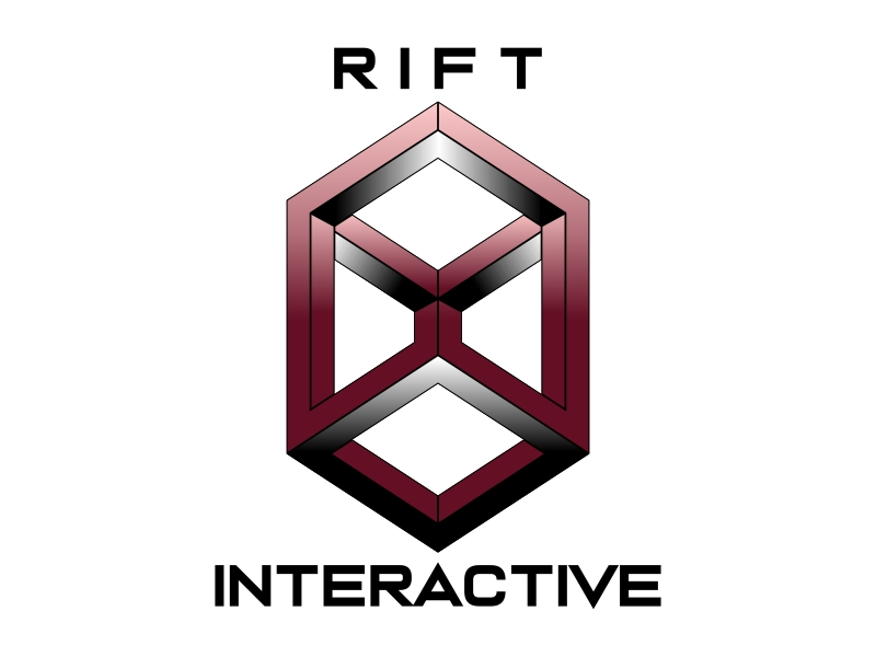 RIFT Interactive logo design by Kruger